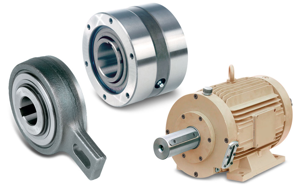 Overrunning Clutches - Self Contained Freewheel